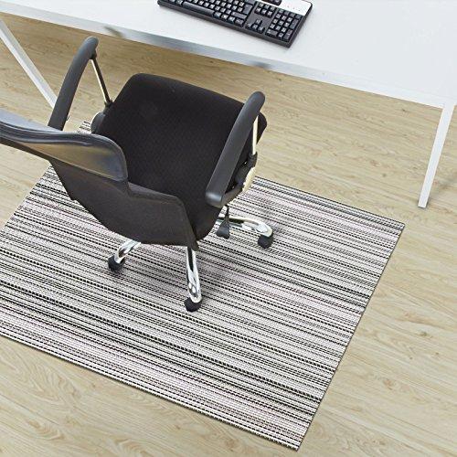 Design Bodenschutzmatte Bologna in 6 Größen | dekorative Unterlegmatte für Bürostühle oder Sportgeräte (100 x 180 cm)