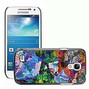Print Motif Coque de protection Case Cover // V00001843 Extracto y arte y pintura y color // Samsung Galaxy S4 Mini i9190
