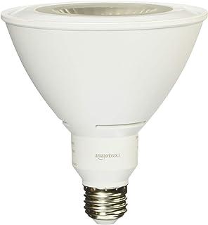 AmazonBasics 90 Watt Equivalent, Daylight, Dimmable, PAR38 LED Light Bulb | 2-