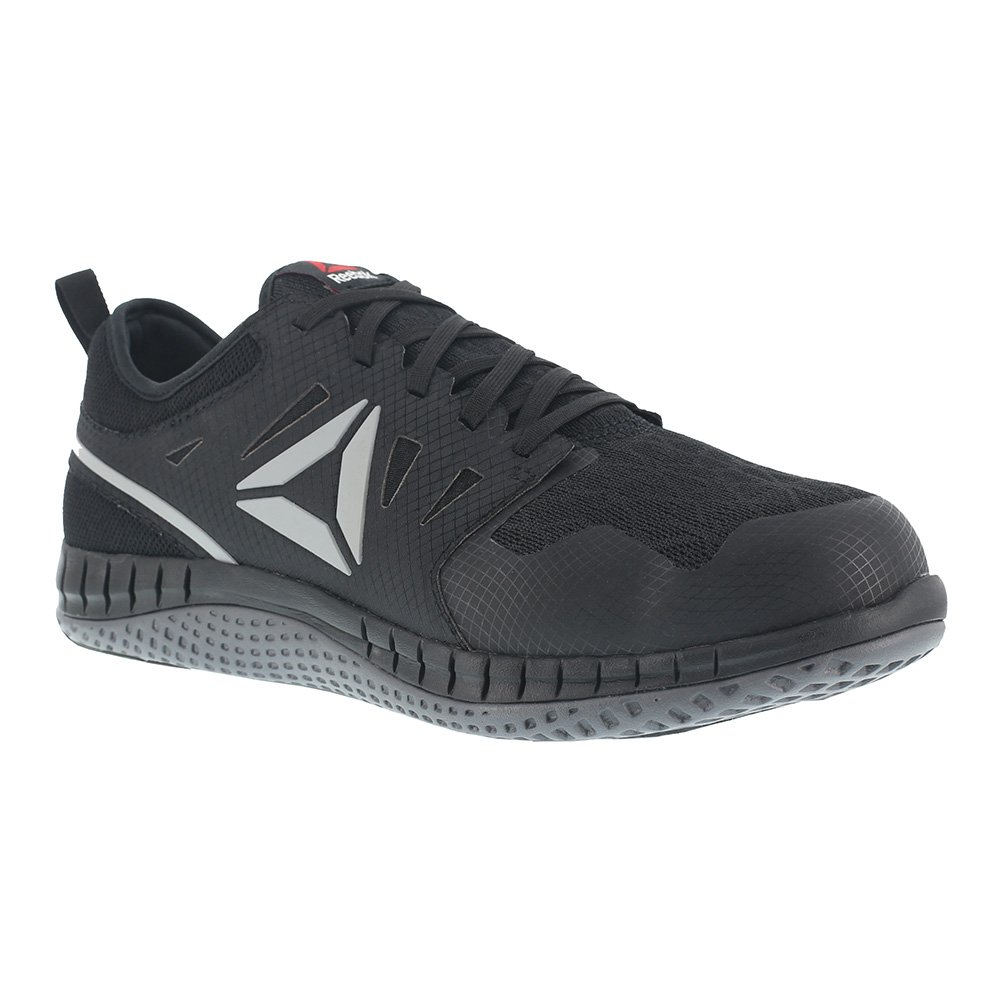 Reebok Work Men's Zprint Work Athletic Oxford B079MBJTRK 8 E US|Black/Dark Grey