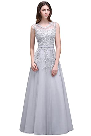 Babyonline Womens Lace A Line Formal Evening Dress For Women Long