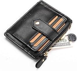 PU Leather Short Male Wallets Card Holder Zipper Coin Pocket Multifunction Wallets Fashion Brand Men Purse