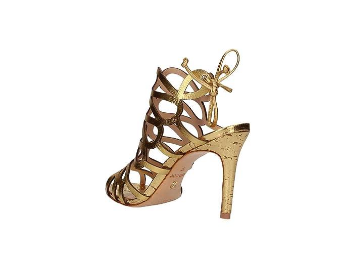 cb87a9e48ab5 Vicenza 235001 Paris Sandalo Tacco Donna Oro 37: Amazon.it: Scarpe e borse