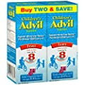Advil Children's Fever Reducer/Pain Reliever Dye-Free, 100mg Ibuprofen