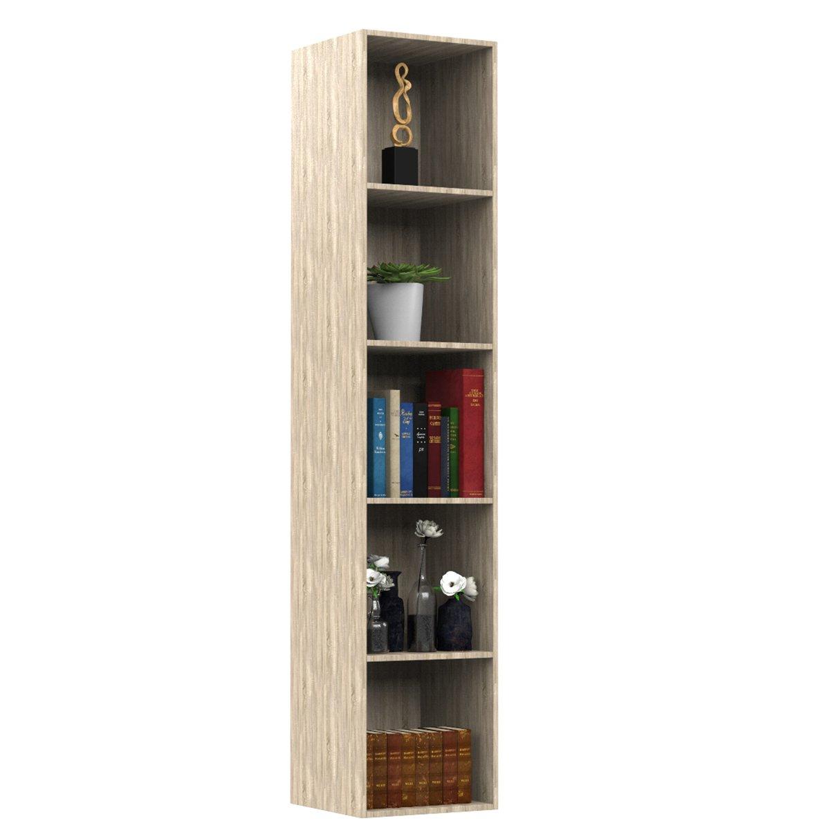 Forzza Regina Bookshelf Sonoma Oak,Light Oak