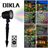 DIKLA Motion Laser Lights for Party Indoor Outdoor Laser Light with Remote Control House, Patio, Wedding, Holiday, Party Decoration