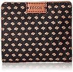 Fossil Emma Mini Rfid Wallet, Black/M...