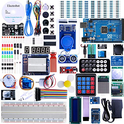 Electrobot Arduino Mega 2560 R3 Project The Most Complete Starter Kit including Tutorials CD (B07M69ZK53) Amazon Price History, Amazon Price Tracker