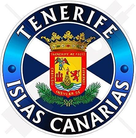 Teneriffa Insel Kanarische Inseln Spanien Islas Canarias Spanisch 100mm Auto Motorrad Aufkleber Vinyl Sticker Garten