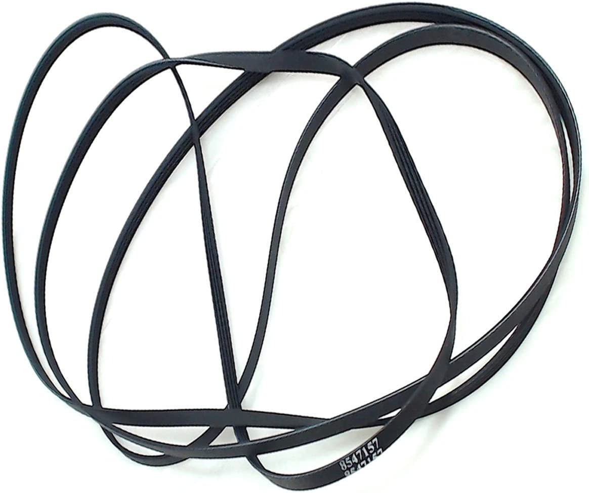(RB) WP8547157 Dryer Blower Belt for Whirlpool Maytag AP6013152, PS11746374