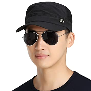 2cec8db5ed7e8 Men Caps, Fahion Cool Breathable Quickly Dry Summer Anti-UV Sun Protection  Outdoor Sports