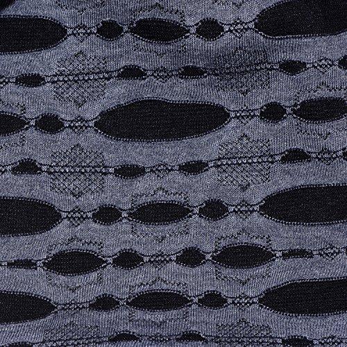todo año de suave talla adaptable cualquier flexible Destroyed Jersey Azul el Negro Hombre DonDon Gorro y en gorro clásico a cabeza transpirable para Look FRzq0Sx