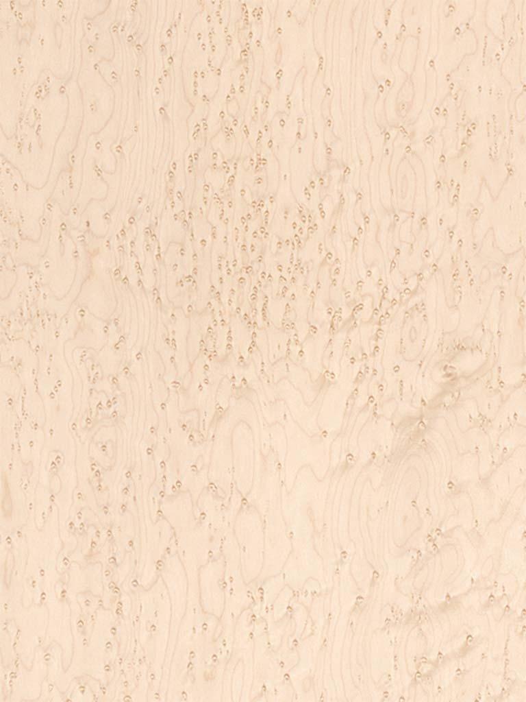 Veneer Tech Birdseye Maple Medium Wood Veneer 10 Mil 4' X 8'