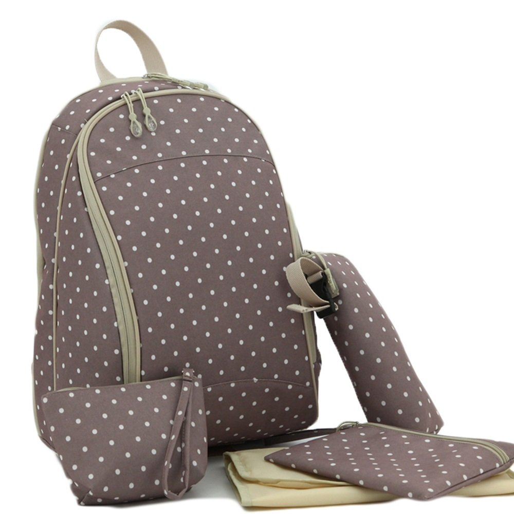 Mummy bag Backpack Multi-Functional Large-Capacity Maternal and Child Baby to be Pregnant Pregnant Women Baby go Out Mother Bag Fashion Color : Khaki