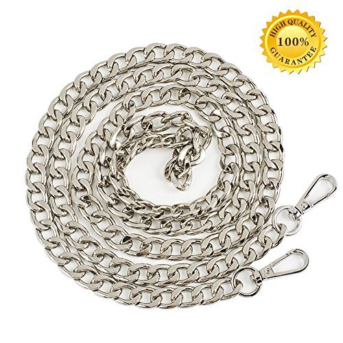 12mm Chain - Myathle 12MM Width Purse Chain Strap Replacement Length 39
