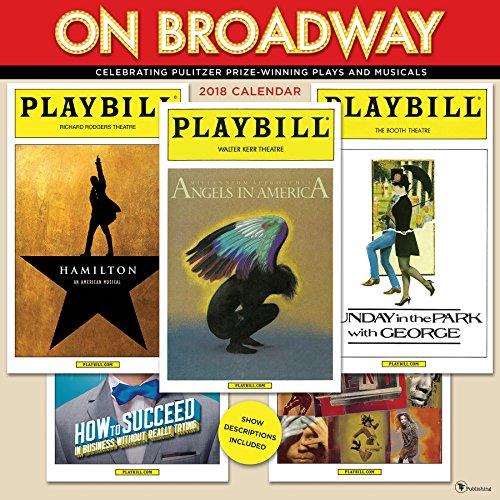 Playbill Theater (2018 On Broadway Wall Calendar)
