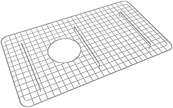 Rohl Wsg6307ss 26 1 4 Inch By 15 1 4 Inch Wire Sink Grid For 6307 Kitchen Sinks In Stainless Steel Single Bowl Sinks Amazon Com