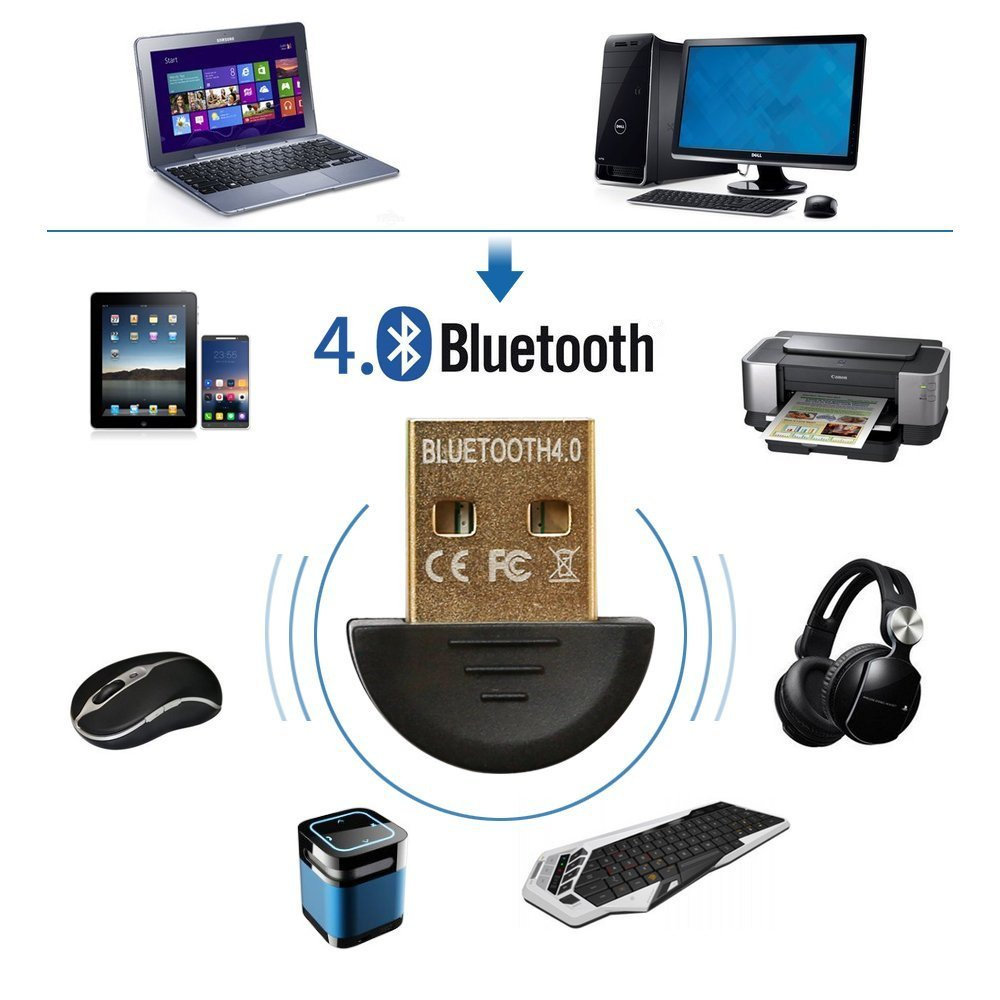 LMTECH Bluetooth CSR 4 0 USB Dongle Adapter Bluetooth Transmitter and  Receiver Bluetooth Transmitter and Receiver For Laptop Compatible with  Window XP