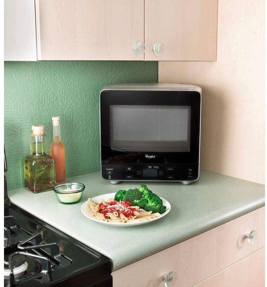 compact-Whirlpool-Silver-Countertop-Microwave-Oven