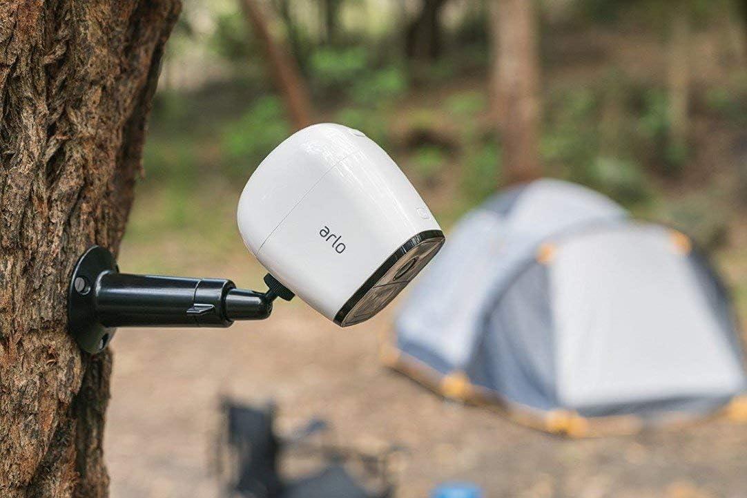 wei/ß VML4030 3G//4G-LTE, Wetterfest, Nachtsicht, 2-Wege-Audio, kostenlose Cloud-Aufzeichnung Arlo Go kabellose Innen//Au/ßen LTE 1 HD /Überwachungskamera