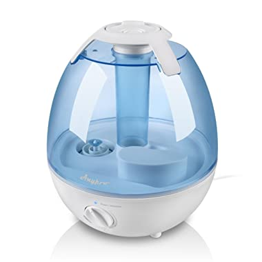 Anypro Ultrasonic Cool Mist Humidifier Mist Humidifiers for Bedroom Ultra Quiet Air Humidifiers with 6 Optional Night Lights Multi Mist Modes Cool Mist Humidifiers for Baby Home, Filter Free (3.5L)
