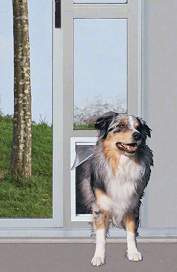 CRL Mill Finish Modular Pet Patio Door