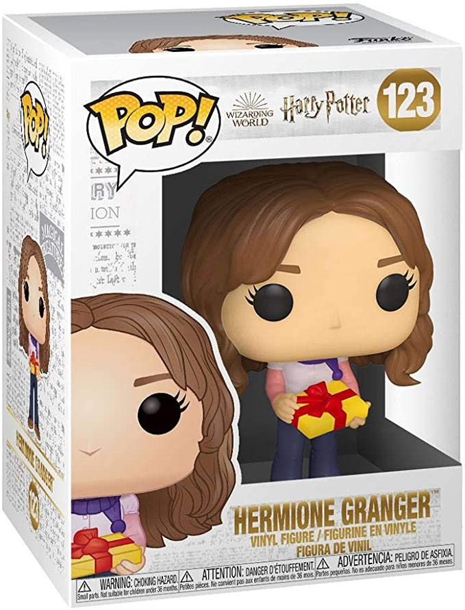 Funko- Pop Harry Potter: Holiday-Hermione Granger S11 Figura Coleccionable, Multicolor (51153)