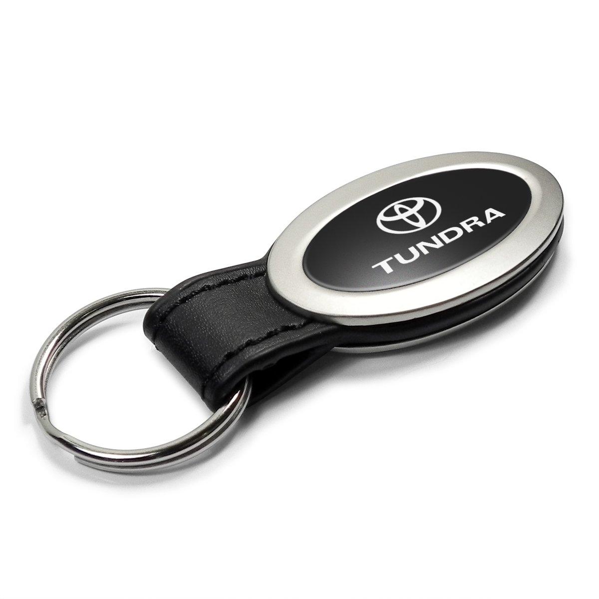Toyota Tundra Oval Style Metal Key Chain Key Fob