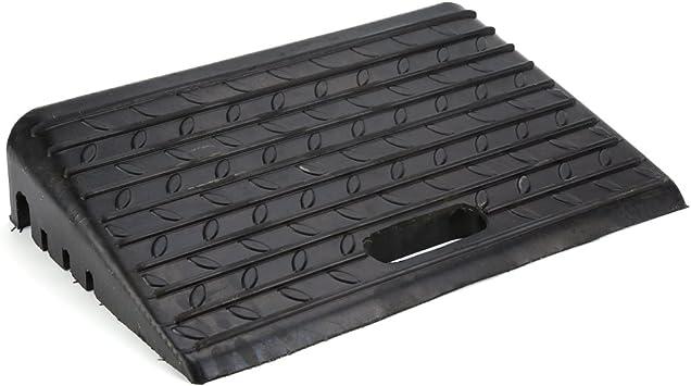 2 rampas de goma negras, rampa de bordillo, rampa de goma, rampa para silla de ruedas, rampa de bordillos portátil para coches, caravanas o sillas de ruedas.: Amazon.es: Bricolaje y herramientas