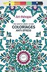 Art-thérapie : Mon carnet de création nomade: Coloriages anti-stress par Leblanc
