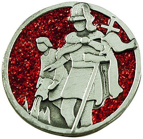 Cathedral Art PT685 Saint Florian Companion Coin, 1-1/4-Inch