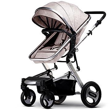 Carro de bebé Niño Baby Trolley luz paraguas de coches de cuatro ruedas de colisión de
