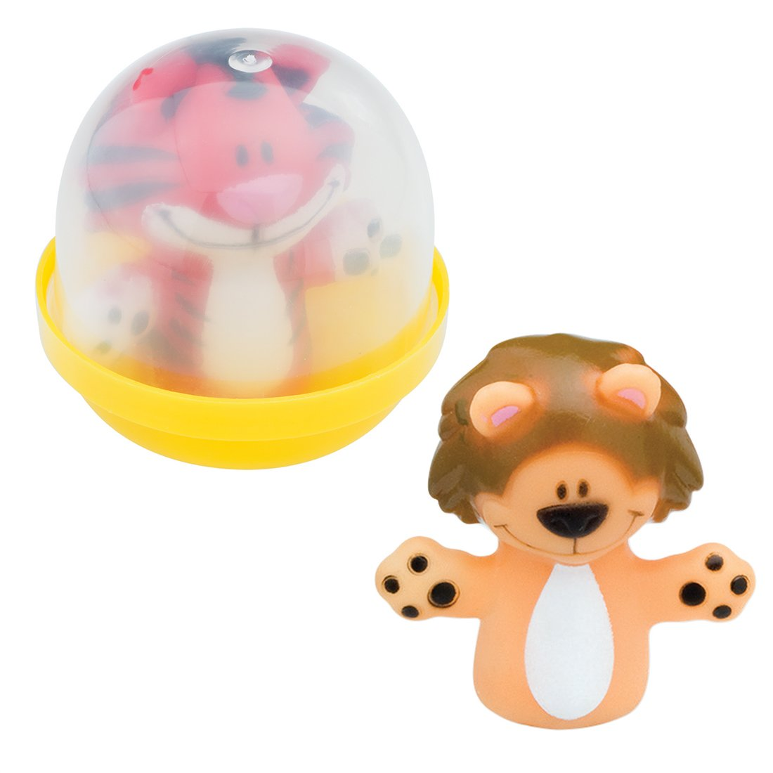 SmileMakers Animal Finger Puppets in 2'' Capsules - Capsule Toy Prizes 250 per Pack by SmileMakers (Image #1)
