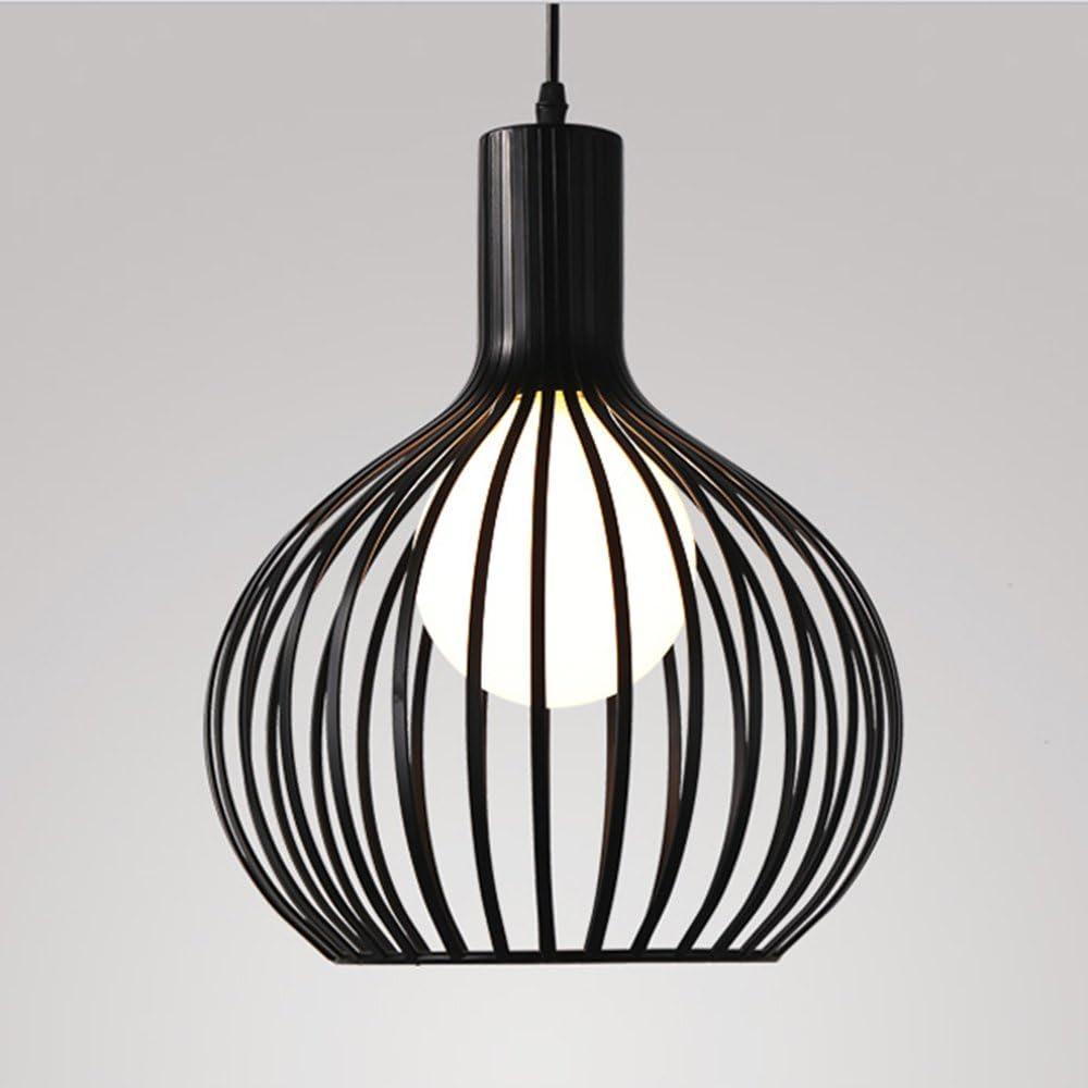 Rétro lustre Suspension vintage Cage à oiseaux Plafonnier