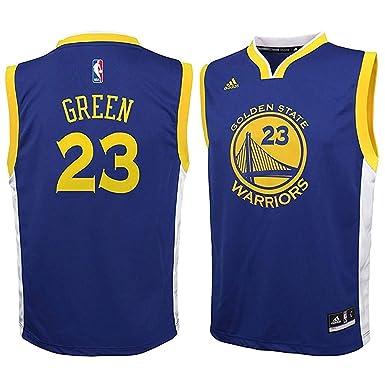 size 40 47062 af1dc Draymond Green Golden State Warriors NBA Adidas Kids Blue Road Replica  Jersey (Kids 5/6)