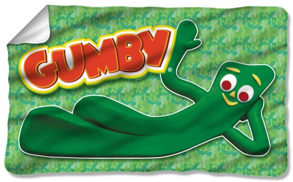 Gumby - Chilling Fleece Blanket 57 x 35in