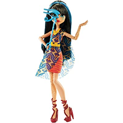Monster High Dance The Fright Away Cleo De Nile Doll: Toys & Games