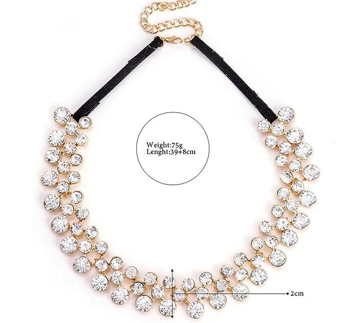 5248f6a31520 Nine tail fox dama Moda exagerado Gargantilla Cuello de babero Collar  elegante Cadena clavicular Bisutería para mujer
