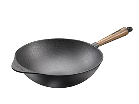 Amazon.com: Skeppshult – Wok de nogal, 12 inch: Kitchen & Dining