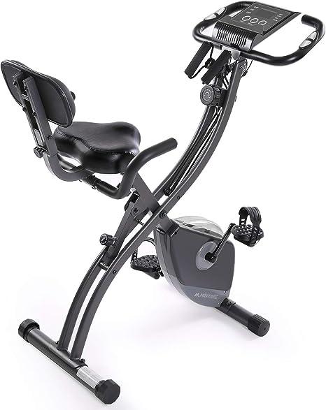 MaxKare Bicicleta estática plegable magnética, vertical ...