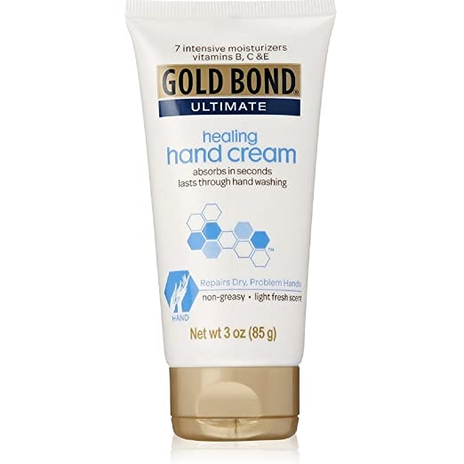 Gold Bond Ultimate Intensive Healing Hand Cream 3 oz ( Pack of 2)