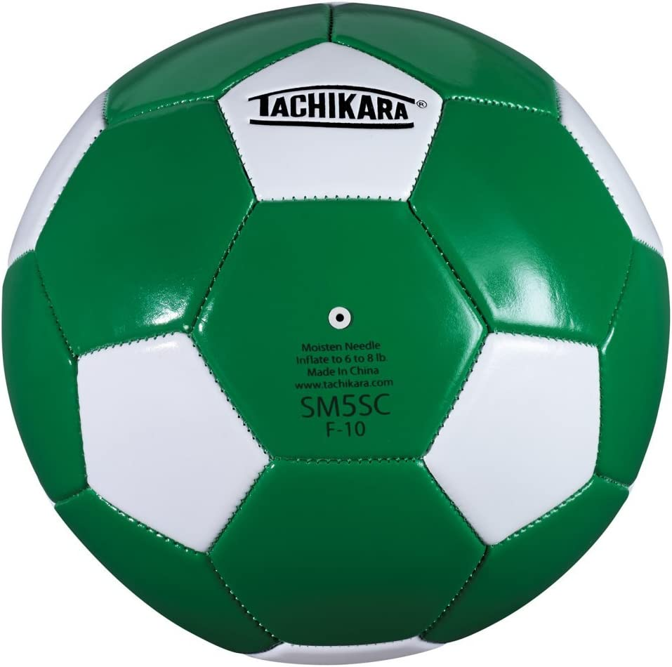 Tachikara SM5SC - Balón de fútbol (Talla 5), Color Kelly/White ...
