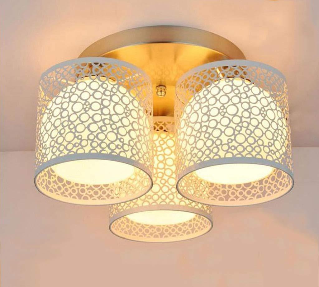 HN Lighting Moderne 3 Licht Deckenleuchte, Unterputz-Malerei Metall Deckenleuchte Kronleuchter für Küche