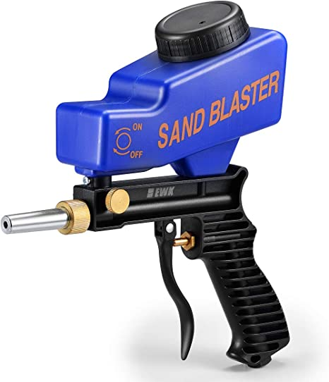 EWK Handheld Pneumatic Gravity Feed Portable Sandblasting Gun
