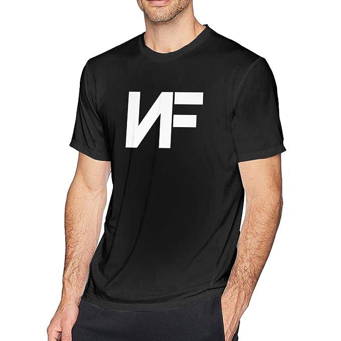Amazon.com: ugyly NF Rapper - Camiseta de manga corta para ...