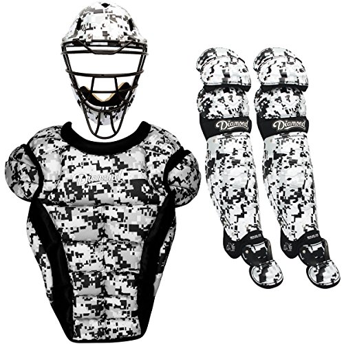 Diamond iX5 Youth Baseball Catcher's Package - Camouflage (White Camo)