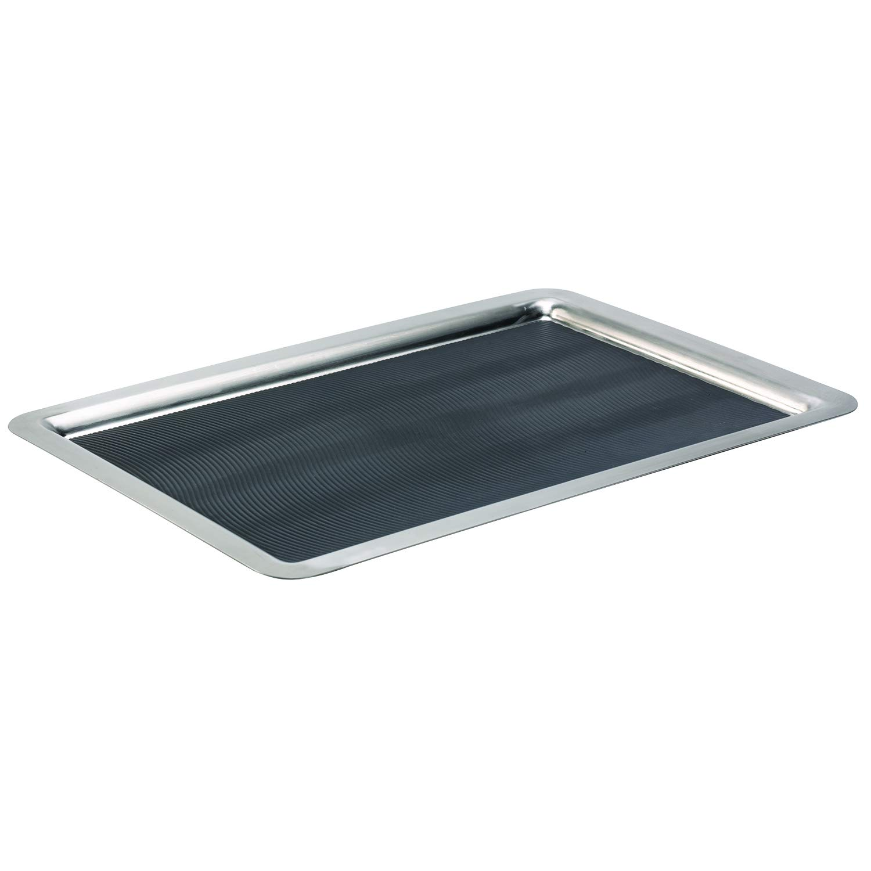 Service Ideas TRRT2014SR Tray, Rectangular, Stainless Steel, 20