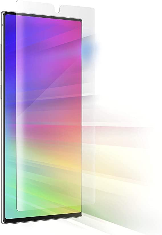 Amazon Com Zagg Invisibleshield Ultra Vision Guard Film Blocks Harmful High Energy Visible Hev Blue Light And 99 Of Uv Light From Your Device Made For Samsung Note 10