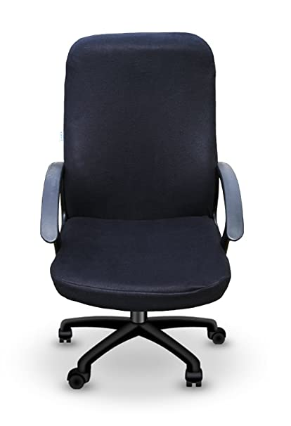Cover - For Office Computer Desk Chairs - Solid Black - Chair Slipcover - Removable u0026  sc 1 st  Amazon.com & Amazon.com: Cover - For Office Computer Desk Chairs - Solid Black ...