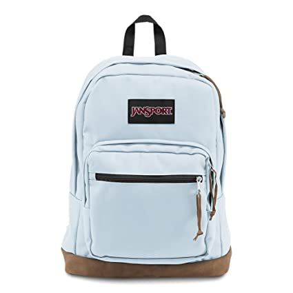 cf84076f268b Amazon.com  JanSport Right Pack Laptop Backpack - Palest Blue ...